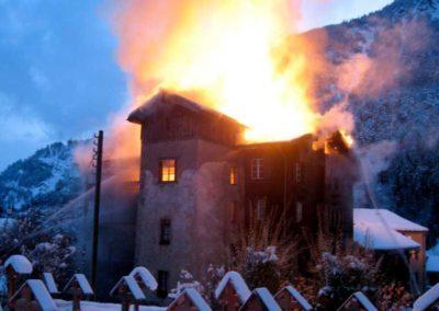 Brand Wohnhaus Mörel
