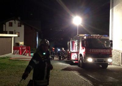 Gebäudebrand Klosiweg