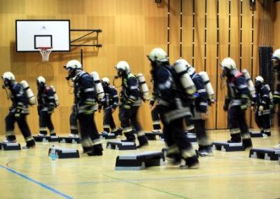 Atemschutzübung: Fitness und Ausdauer