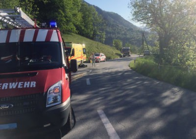 Verkehrsunfall Birchegga