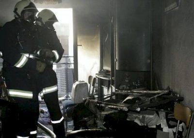 Brand einer Wohnung