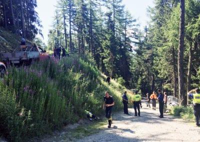 Verkehrsunfall Salwald