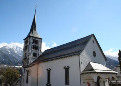 Reparatur Beleuchtung Kirche