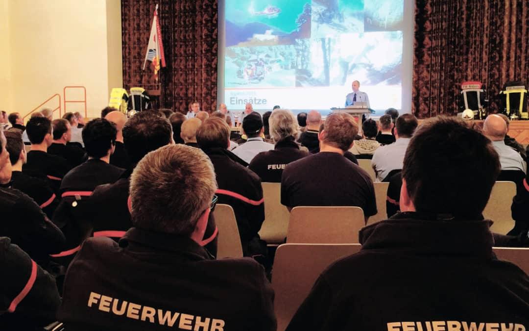 Agatha-Feier 2018 der Feuerwehr Naters