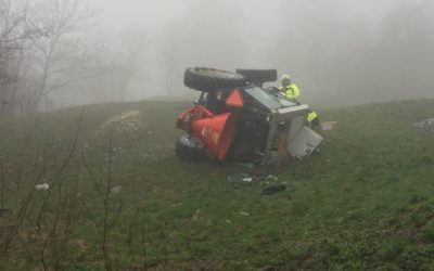 Traktorunfall in Birgisch