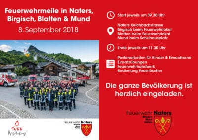 Feuerwehrmeile am 8. September