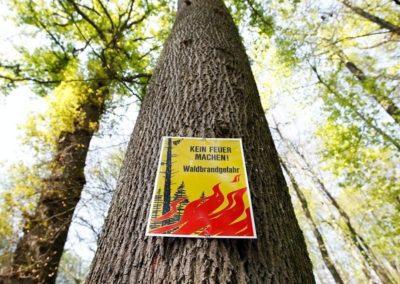 Feuerverbot bleibt bestehen