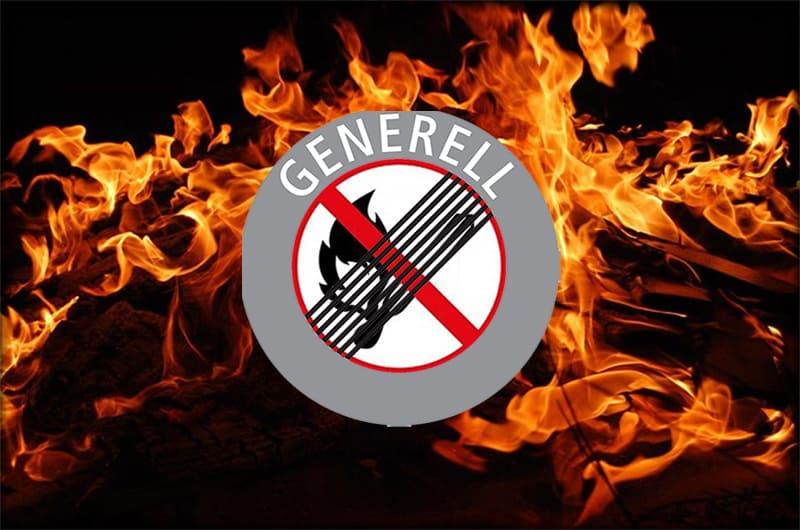 Generelles Feuerverbot aufgehoben