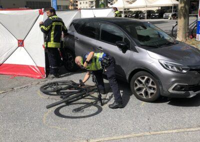 Verkehrsunfall Furkastrasse