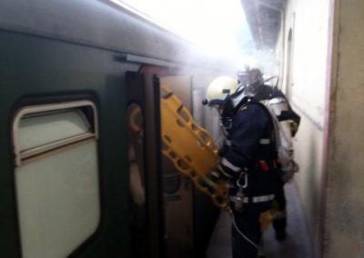 Atemschutzübung: Der LRZ der SBB