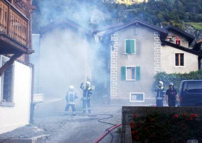 Gesamtübung 2015: Explosionen, Brände und viele Verletzte
