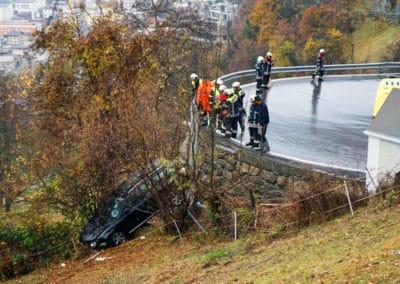 Verkehrsunfall auf der Blattenstrasse