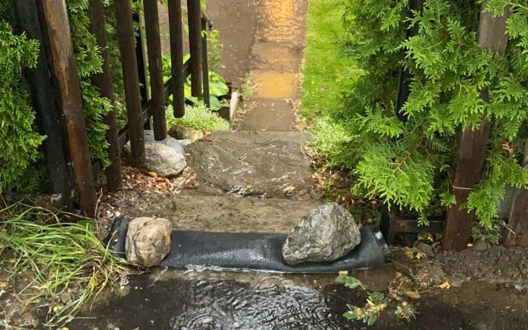 Überschwemmung Dammweg
